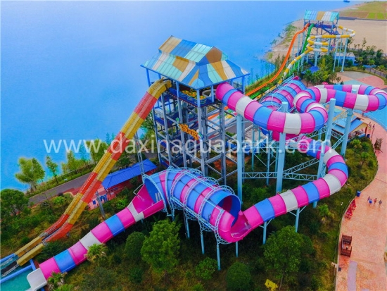 Python slide for aqua park