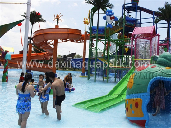 Ocean Style Water Playground